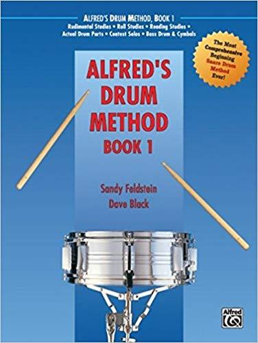 Alfred's Drum Method, Bk 1 D Mark Agostinelli - Best Drum Books