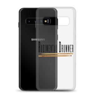 Rudimental Drummer Samsung Case (Clear)