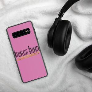 Rudimental Drummer Samsung Case (Pink)