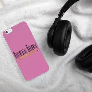 Rudimental Drummer iPhone Case (Pink)