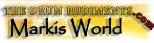 Markis World - The Drum Rudiments Logo